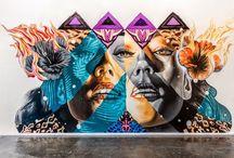 Graffiti artists & illustrators