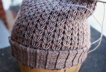 Hat knitting for baby and adult