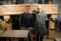 Fireplace Mantels / Fireplace mantels - hand carved by Agrell Architectural Carving