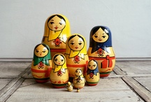 Matryoshka Dolls / by Micaila Rose