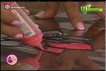 hacer pintura falso vitral
