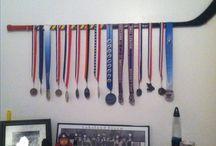 hockey theme boys bedroom