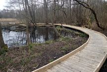 Wooden Boardwalks & Decking / We believe in making attractive, long lasting wooden boardwalks and decking. See more here: http://www.thewilddeckcompany.co.uk/product-portfolio/boardwalks/