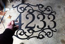House numbers / by Christine Redel