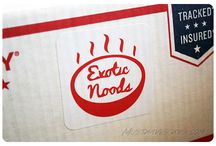 """Exotic Noods / About: """"A curated selection of the highest quality instant noodles delivered to you."""" For full subscription box reviews, visit http://musthaveboxes.com."""