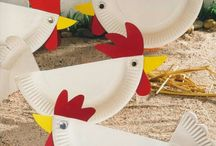 Chicken/Barnyard Party Decor Ideas