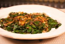 Recipes - Grains & Greens / Some of my favorite combinations