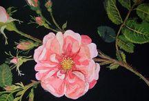 세밀화.꽃