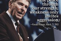 Ronald Wilson Reagan / by J David Netterville