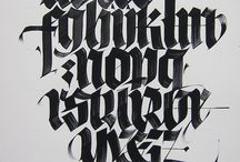 Luca Barcellona / Blackletters, Calligraphy