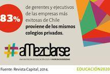 Inclusión / Chile es el país más desigual y segregado del mundo. Para cambiar esta realidad hay que mezclarse.