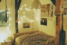 Beautiful Homes / Bedrooms, backyards and living spaces