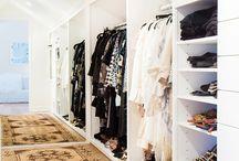 Walk-In closet / Walk- In closets of my dreams