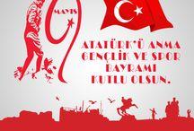 Atatürk Ve Gençlik Ve Spor Bayramı