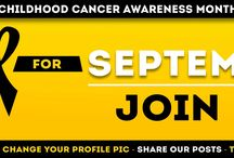 Childhood Cancer Awareness Month 2014 / Join Us in Going Gold to support children fighting cancer! September is Childhood Cancer Awareness Month!