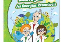 EcoScience / Linha de brinquedos Science4you que têm como objetivo alertar as crianças para a importância das energias renováveis, ecologia e temas de proteção ambiental.