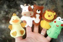 Boneka Jari (Mainan Edukasi) / Harga @15.000 - 20.000