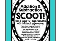 three number addition and subtraction