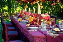 Wedding Table Decor / Wedding and reception table decor ideas