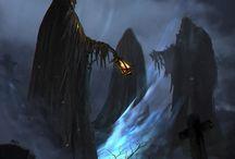 Burning Elven Horror