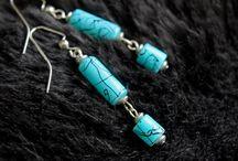 Earrings / Handmade beaded earrings by Overstreet Hudson