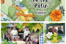 Wonderful Collections / Collections of digital scrapbook designers, including some layout inspiration.
