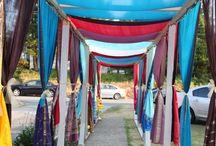 Indian outdoor decor