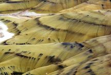 Painted hills oregan / Painted hills oregan