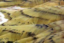 Painted hills oregan / Painted hills oregan