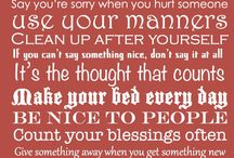 Special Sayings
