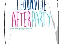 AfterParty accessories / Shirts, stickers and more!