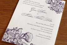 Inspiration Board for Virginie & Dan / Purple orchids and France