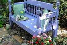 Furniture Ideas / Use of shutters and old windows is a top priority! / by Tara Kindschi