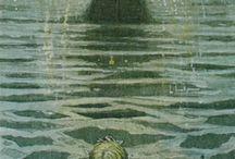 la sirenetta (illustrazioni vintage)