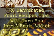 Dehydrate fruits and veggies