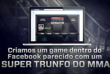 Canal Combate - Game / Em trabalho desenvolvido para a Globosat, a TK10 criou um social game no Facebook para os amantes de MMA e, com ele, aproximou a marca dos seus fãs.