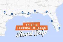 Road trip Florida to California