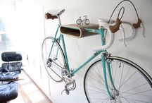 Bike Storage Ideas - Inspiration / Now that you've got your bike and your favourite CycleStyle items, where do you store your bike?