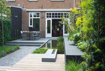 Tuinbestrating Modern Huis