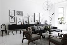 Living room - Scandinavian style