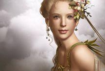 Greek Gods, Goddesses, Legends