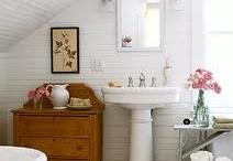Bathrooms to rub a dub dub in.