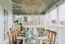 Outdoor Living  Ideas and Inspiration / We love spending time outside. Here are my favorite inspiration and ideas for taking the same comfortable, modern, farmhouse style from the inside and applying it to our outdoor living as well!