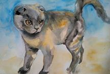Digital print / Digital print of original watercolor painting by Alina Shmygol.