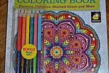 Adult coloring books / Colorama