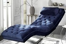Indoor Chaise Lounges#Living Room Furniture