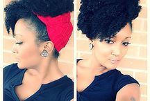 natural hairstyles! / by Neotha Williams