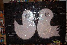 My Mosaics / home  made mosaics :)  by Ayben Kokum