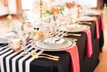 Kate Spade Inspired Wedding Styling / Kate Spade Inspired Wedding Styling