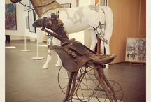 Art, peintre et sculpture / De l'art, de la peinture, de la sculpture que l'on peut trouver en Cotentin Val de Saire